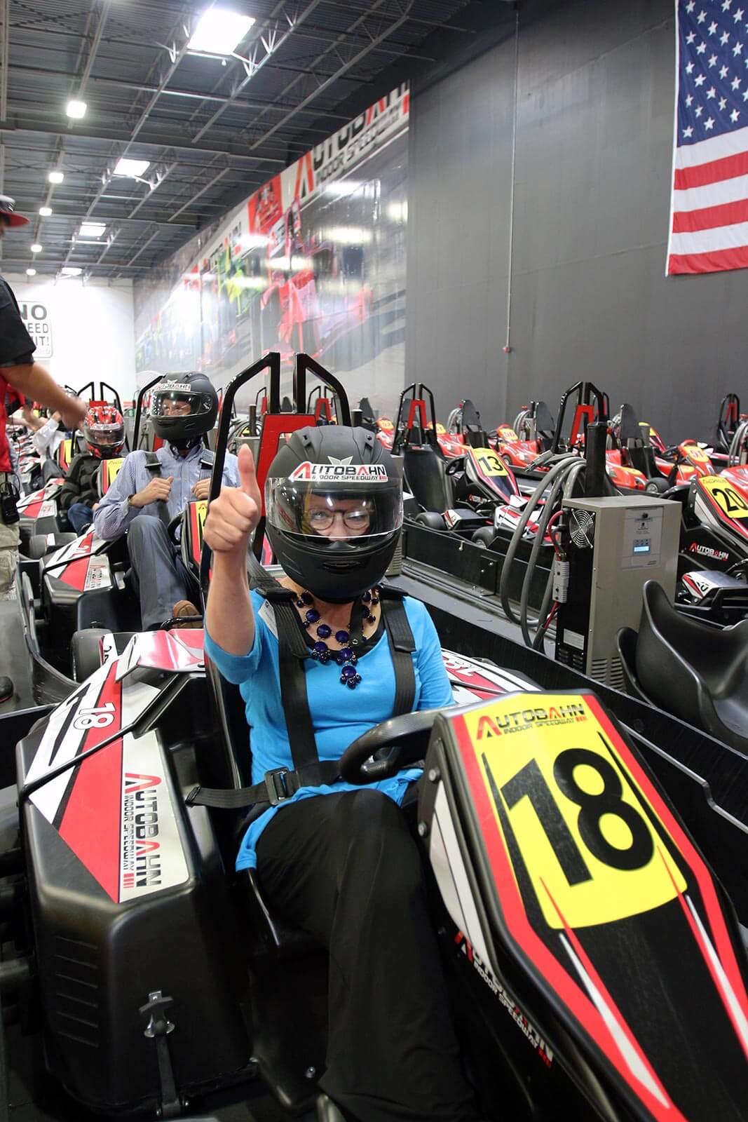 Palisades Mall Go Karts >> High-Speed Electric Go-Kart Images | Autobahn Indoor Speedway