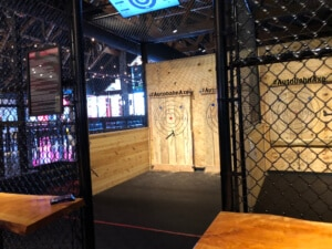 empty lane, axe throwing in Birmingham
